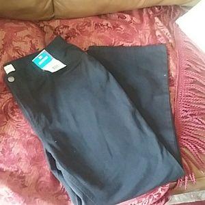 Black bootcut jeans 18 petite